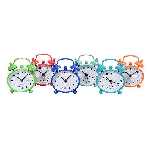 Metal Mini Alarm Clock 6 Colors ミニアラームクロック