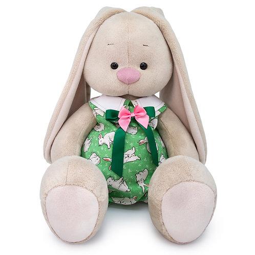 BUDI BASA  うさぎのMI ウサギ柄のグリーンロンパース