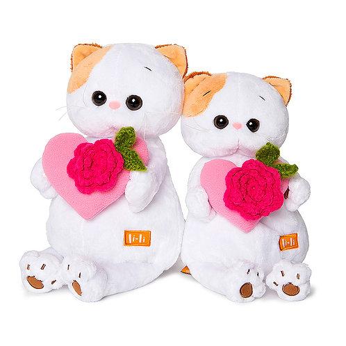 BUDI BASA  Li-li with ピンクのハート エキゾチックショートヘア