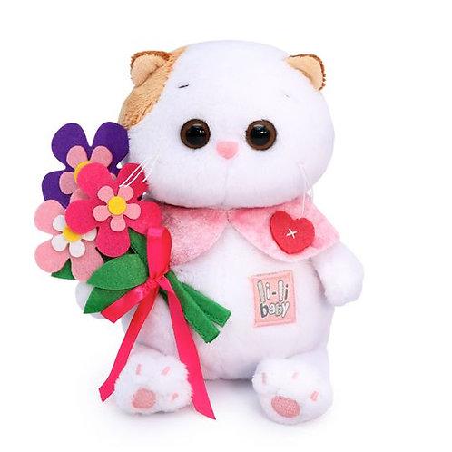 BUDI BASA  Li-li baby withフェルトの花束 エキゾチックショートヘア