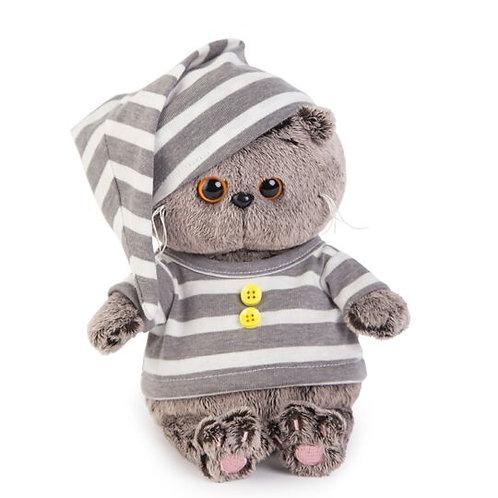 BUDI BASA Basik Baby  ストライプ柄のパジャマ スコティッシュフォールド