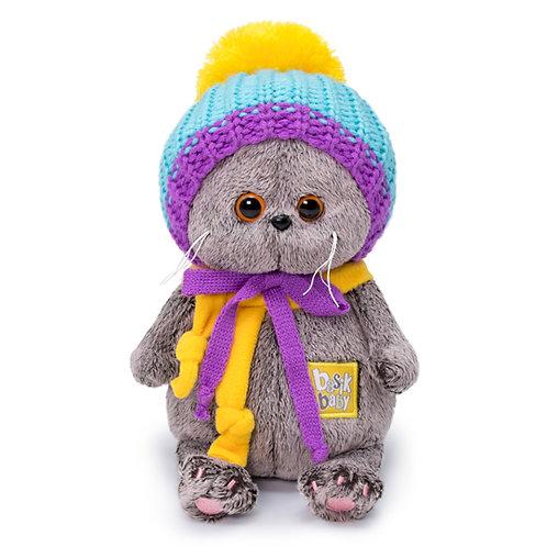BUDI BASA Basik Baby カラフルニット帽 スコティッシュフォールド