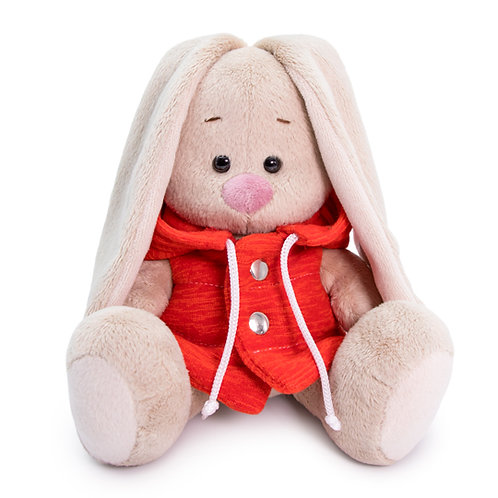 BUDI BASA   MI  baby   フード付きの赤いジャケット
