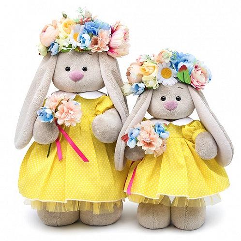 BUDI BASA  うさぎのMI  黄色のお花ドレス