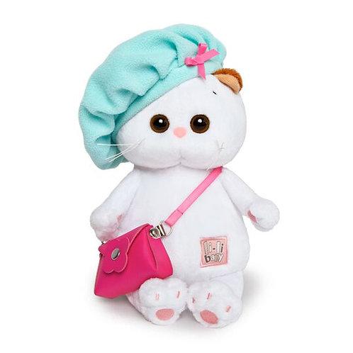 BUDI BASA Li-li baby ベレー帽とピンクのカバン エキゾチックショートヘア
