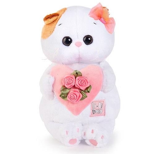 BUDI BASA  Li-li baby with ピンクのハート エキゾチックショートヘア