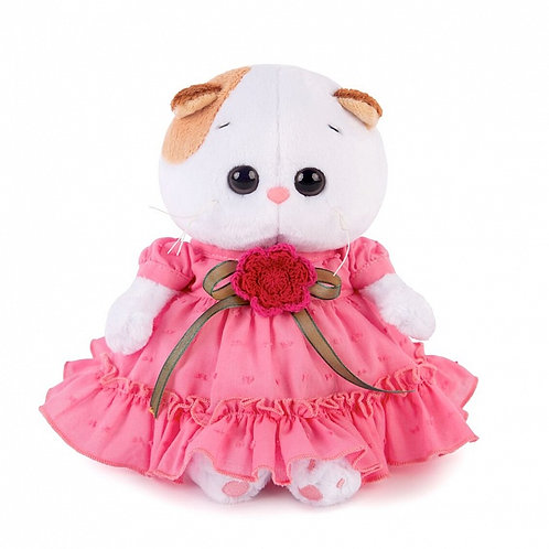 BUDI BASA Li-li baby ピンクのゴージャスドレス エキゾチックショートヘア