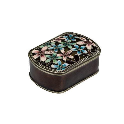 Metal Rect. Jewelry Box