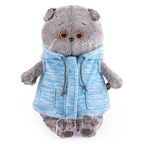 BUDI BASA  BASIK ブルーのサマージャケット   スコティッシュフォールド