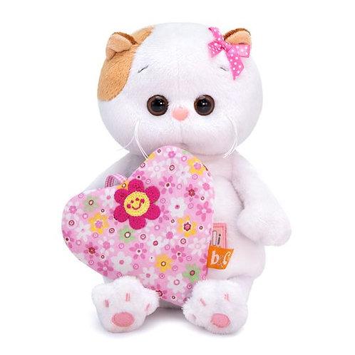 BUDI BASA Li-li baby お花柄のハート エキゾチックショートヘア