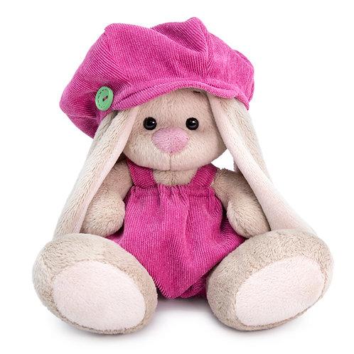 BUDI BASA   MI  baby   ピンクのコーデュロイキャスケットとスカート