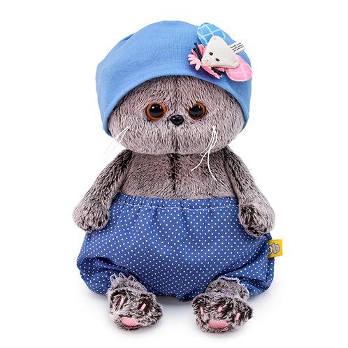 BUDI BASA Basik Baby 青の帽子&パンツ スコティッシュフォールド
