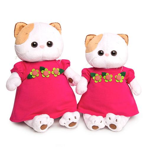 BUDI BASA  Li-li ローズ色のお花ドレス エキゾチックショートヘア