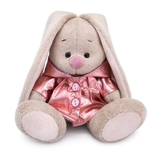 BUDI BASA   MI  baby   メタリックピンクのコート