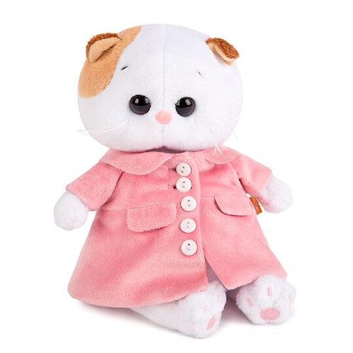 BUDI BASA  Li-li baby  ピンクのコート エキゾチックショートヘア