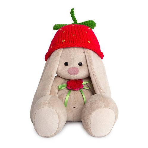 BUDI BASA うさぎのMI   イチゴのニット帽