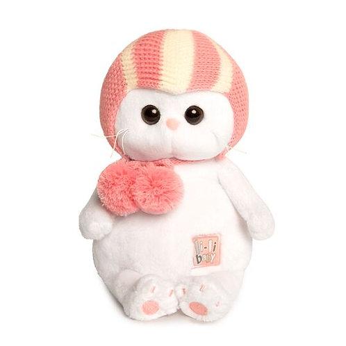 BUDI BASA Li-li baby ピンクのスポーツキャップ エキゾチックショートヘア
