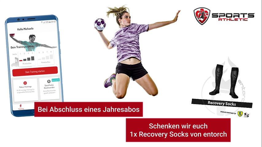 Sports Athletic Aktion Handball WM 2021