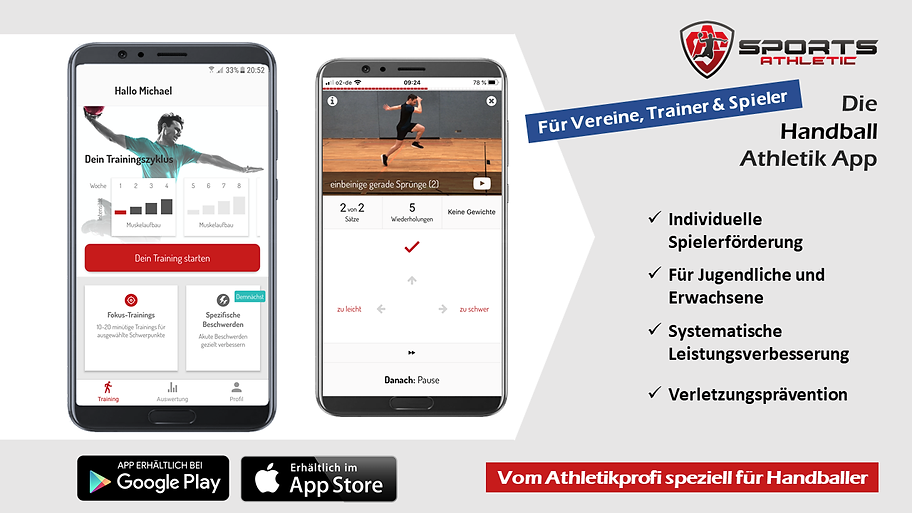 Flyer Sports Athletic App Seite 1