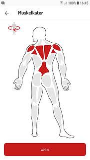 Muskelkater-Abfrage