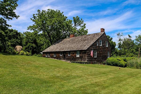 The Brewster House in Setauket.