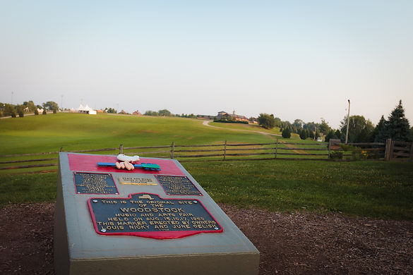 The Museum at Bethel Woods: The Woodstock Monument and historic site of the 1969 Woodstock