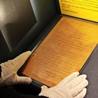 George Washington's spy letters.
