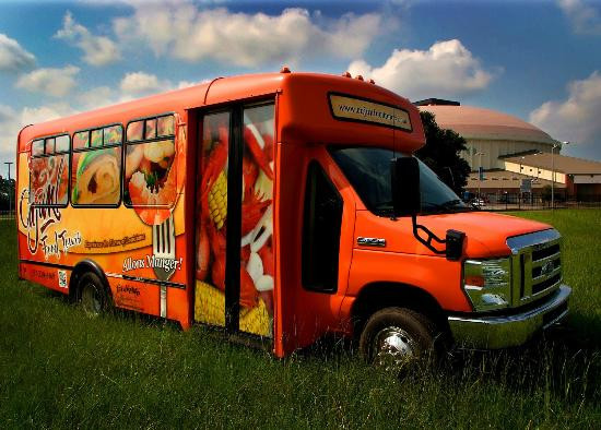 Cajun Food Tour Bus