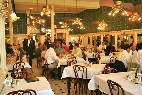 Galatoire's main dining room, this is the place to be!