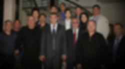 Касым Исаев и Мирослав Ниязов с однопартийцами
