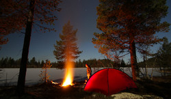 Camp i Evenstadlia