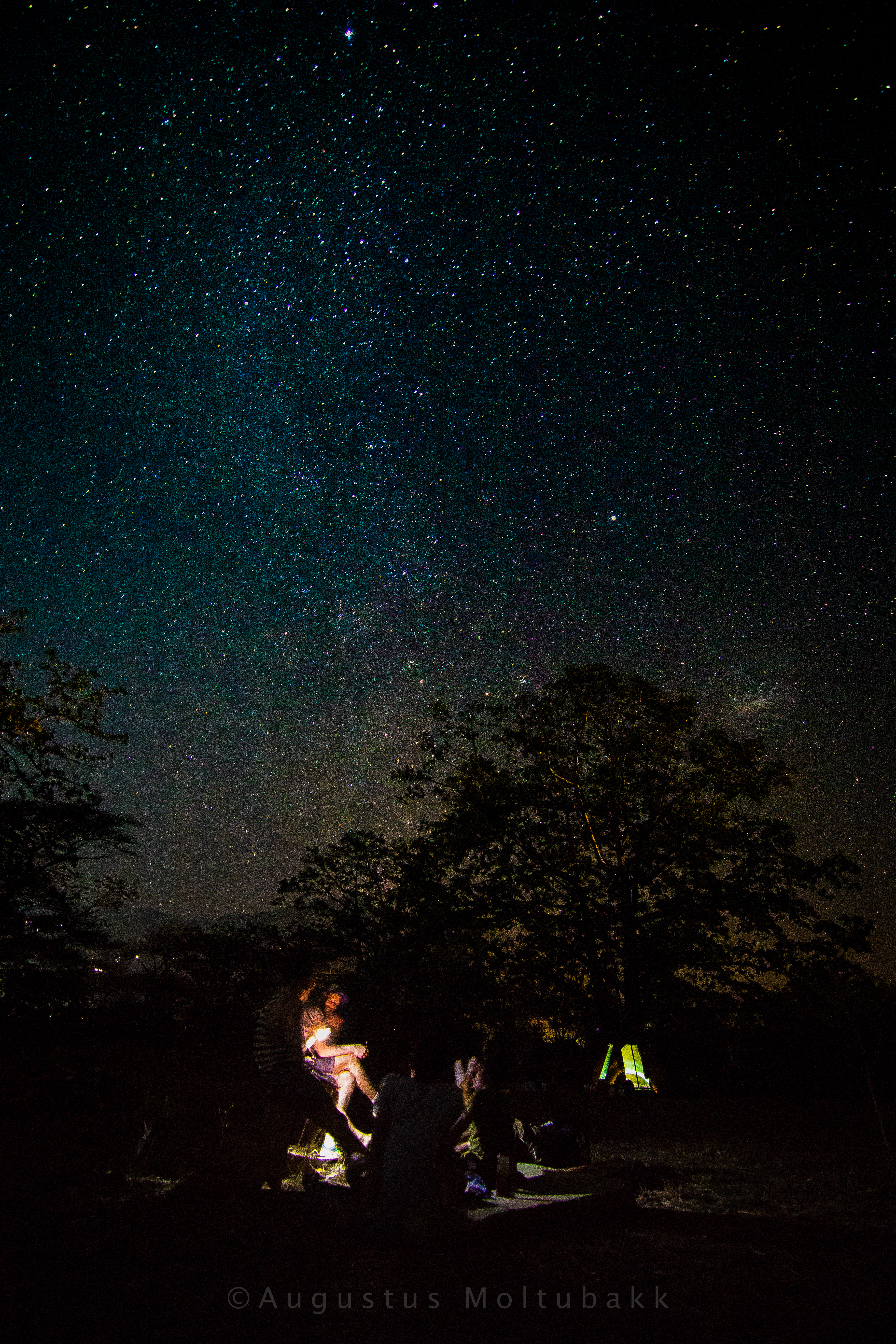 Stjerneklar leirplass i Morogoro