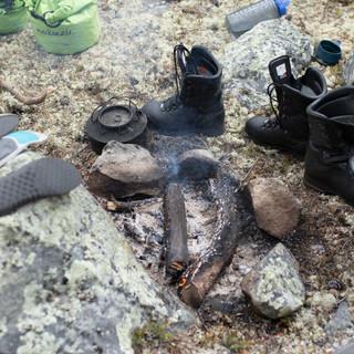 Tørking av våte sko
