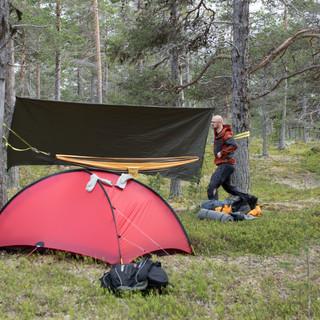 Oppetting av camp