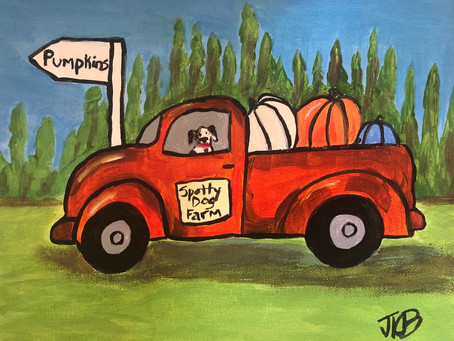 Spotty Dog Pumpkin Farm