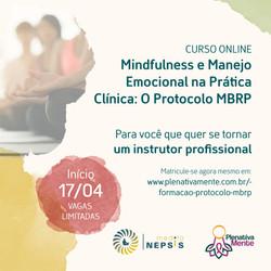 Formação profissional Mindfulness