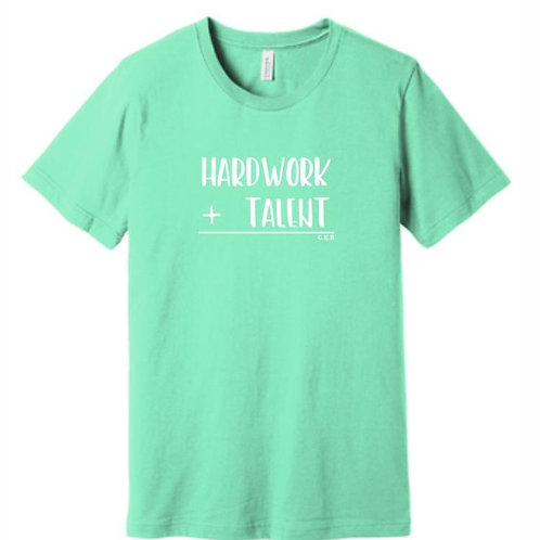 hardwork+talent t-shirt