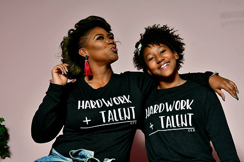 Hardwork+ Talent Long Sleeve