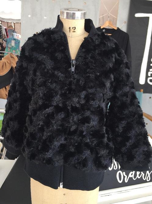 Mini Fur Bomber Jacket