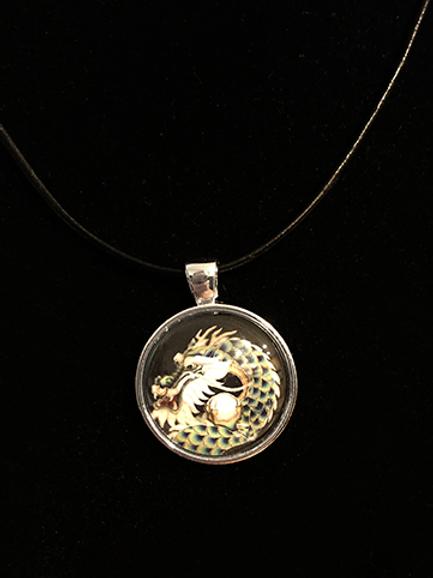 Celestial Dragon Single Pendant