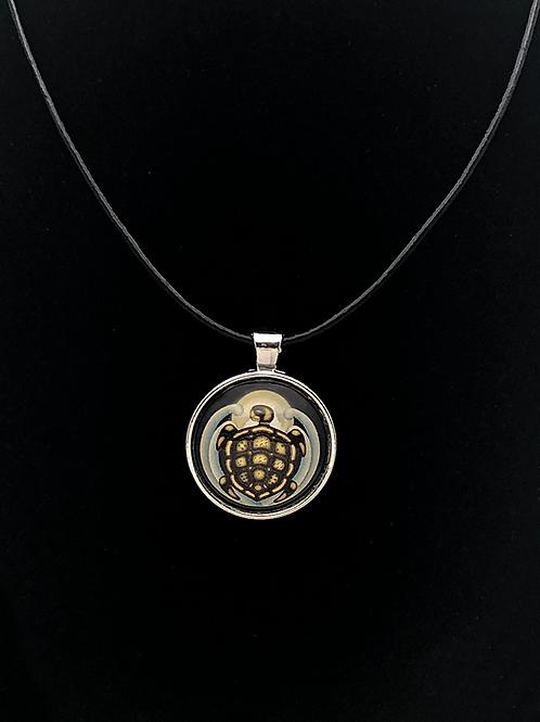 Celestial Matrix Turtle Single Pendant