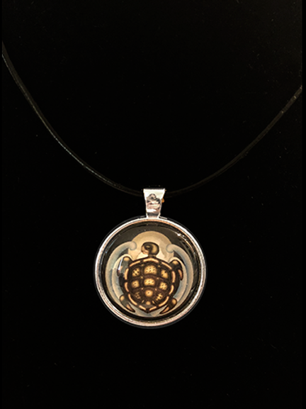 Celestial Matrix Turtle Single Pendant
