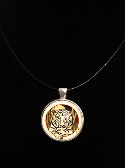 Celestial Tiger Single Pendant