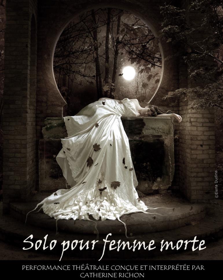 Solo pour femme morte : 28 / 29 / 30 septembre