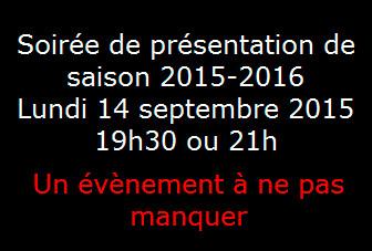Dossier Paradis A la Folie Théâtre, Présentation de saison le 14 septembre
