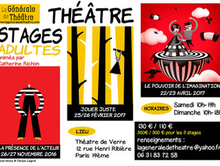 Trois stages