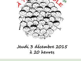 Scène ouverte le 3 décembre