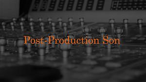 Du montage au mixage, de la restauration sonore à la synthèse vocale, Allumage est spécialisé dans le traitement du son après le tournage.