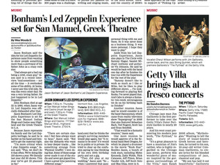The LA Daily preview of the Getty Concert