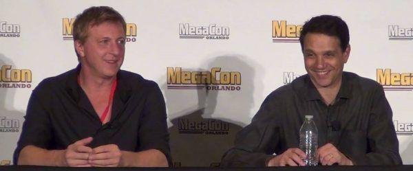 Stars Ralph Macchio and William Zabka
